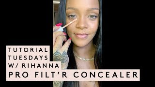 Tutorial Tuesday with Rihanna: Concealer Tutorial