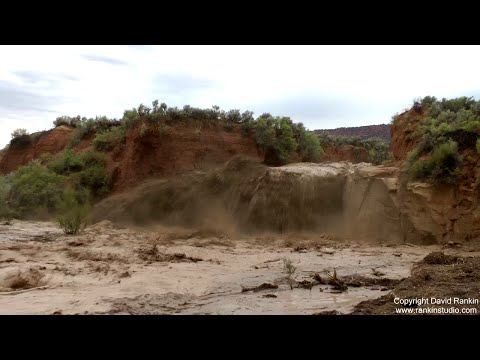 Massive Flash Flood, Grand Staircase Utah August 4th 2016