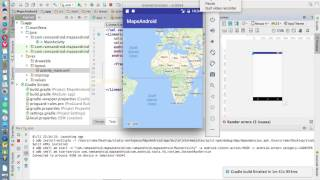 Android Studio Tutorials - 45  : Google Maps Android API V2 in Android Free HD Video