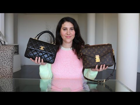 BAG BATTLE: LV POCHETTE METIS vs CHANEL TRENDY CC!! REVIEW + MOD-SHOTS! thumbnail