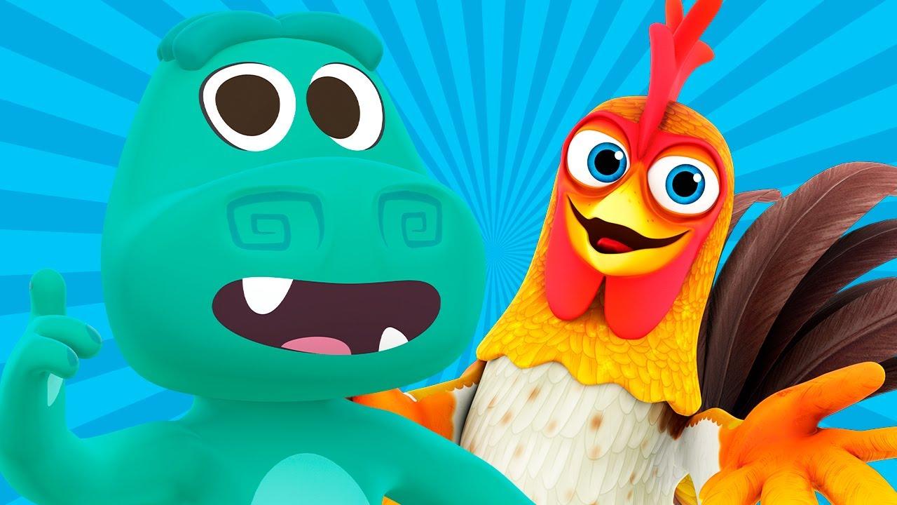 Сборник песенок для детей | Песни Зоопаркa, Фермa и другие песенки | Детское Королевство