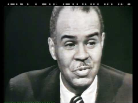 NAACP leader Roy Wilkins on Face the Nation