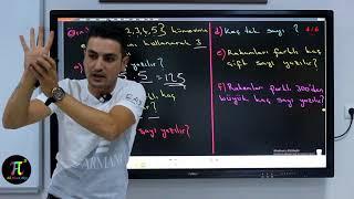 Permütasyon 1 - Konu Anlatımı ve Soru Çözümleri | Ali Ahsen AKTİ