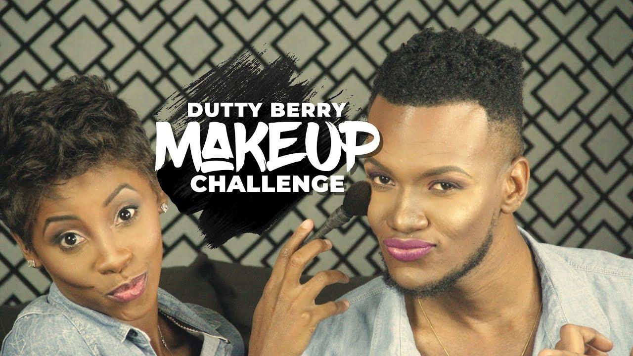 MakeUp Challenge Ft Shaph Sassy MUA | Brave Trip To Mega Mart lol