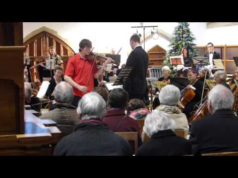 Dylan Latham - Bruch Violin Concerto No1 with North Norfolk Sinfonia