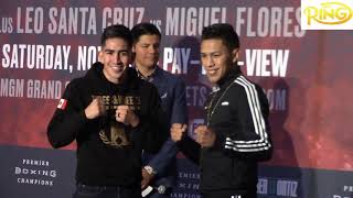 Leo Santa Cruz Focused On Beating Miguel Flores To Become A Four Division Champion