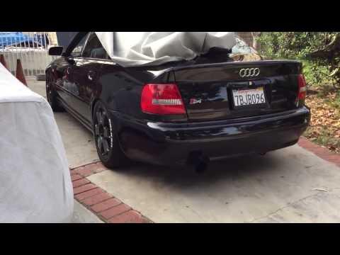 Audi B5 S4 Straight Pipe Sound