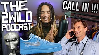 I'M GOING TO AREA 51 !!! SNEAKER NEWS , UPDATE ON NBA , R KELLY AND MORE ! CALL IN TO THE STREA