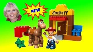 ♥♥ Lego Duplo Toy Story Jessie's Roundup
