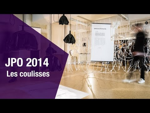 JPO Design 2014 - Les coulisses