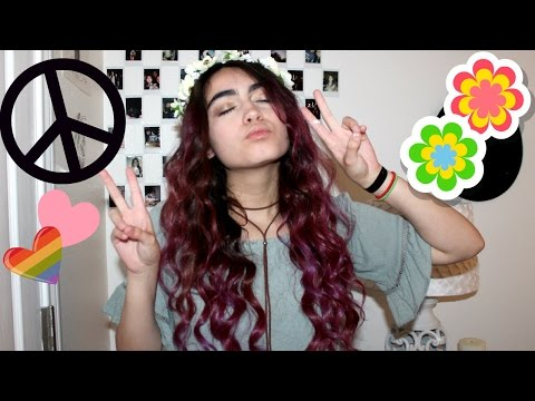 Flower Child Make Up Tutorial ☮ 70's Inspired
