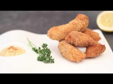 poulet-pané-et-frit-rapide-et-délicieux