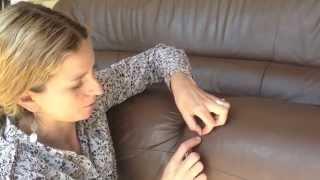 Repair Cut in Leather