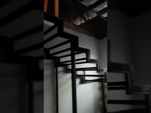Лестница на дом. Каркас на лестницу своими руками.