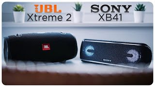 Sony XB41 | Klangtest vs. JBL Xtreme 2 | deutsch | 2018
