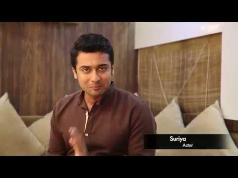 Yoga endorsment by celebrity-SURIYA TAMIL