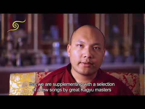 "HH Karmapa talks about Offering ""The Ocean of Songs and the Chakrasamvara Ganachakra"""