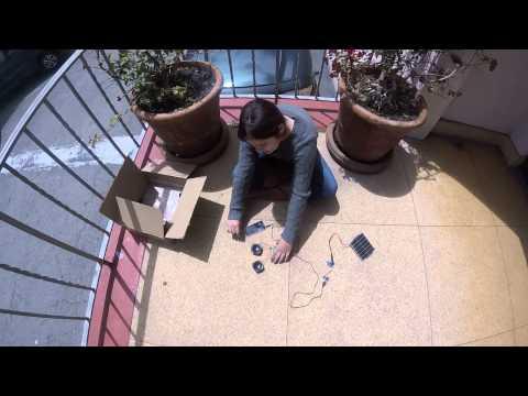 Jenny R - Solar-Powered Speaker Milestone 1 (Main Project)