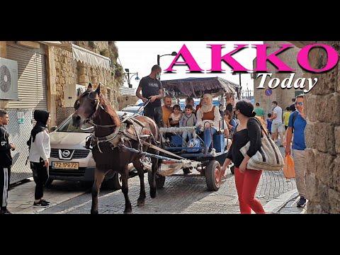 WALKING TOUR OLD TOWN AKKO,/ACRE/HerItage Site,during Corona,ISRAEL