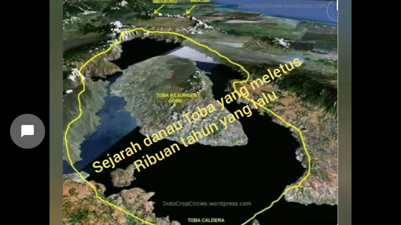 Sejarah pulau Samosir dan danau Toba - YouTube