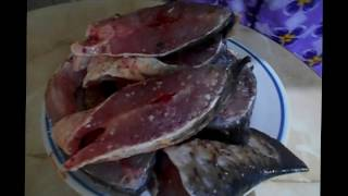 Как жарить рыбу на сковороде/приготовить карпа