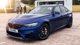 100MPH FIRST DRIVE OF THE  BMW M3 CS 2018 *Best M3 EVER?*
