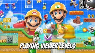 Super Mario Maker 2 - Playing Viewer Levels - Nintendo Switch