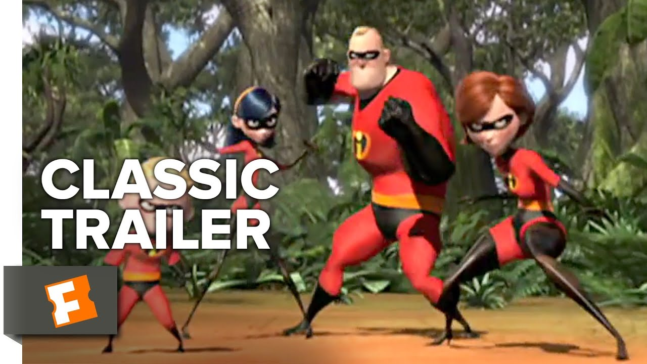 The Incredibles 2004 Trailer 2 Movieclips Classic Trailers Youtube