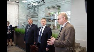 Выездное заседание Совета по развитию предпринимательства в ГрГУ имени Янки Купалы