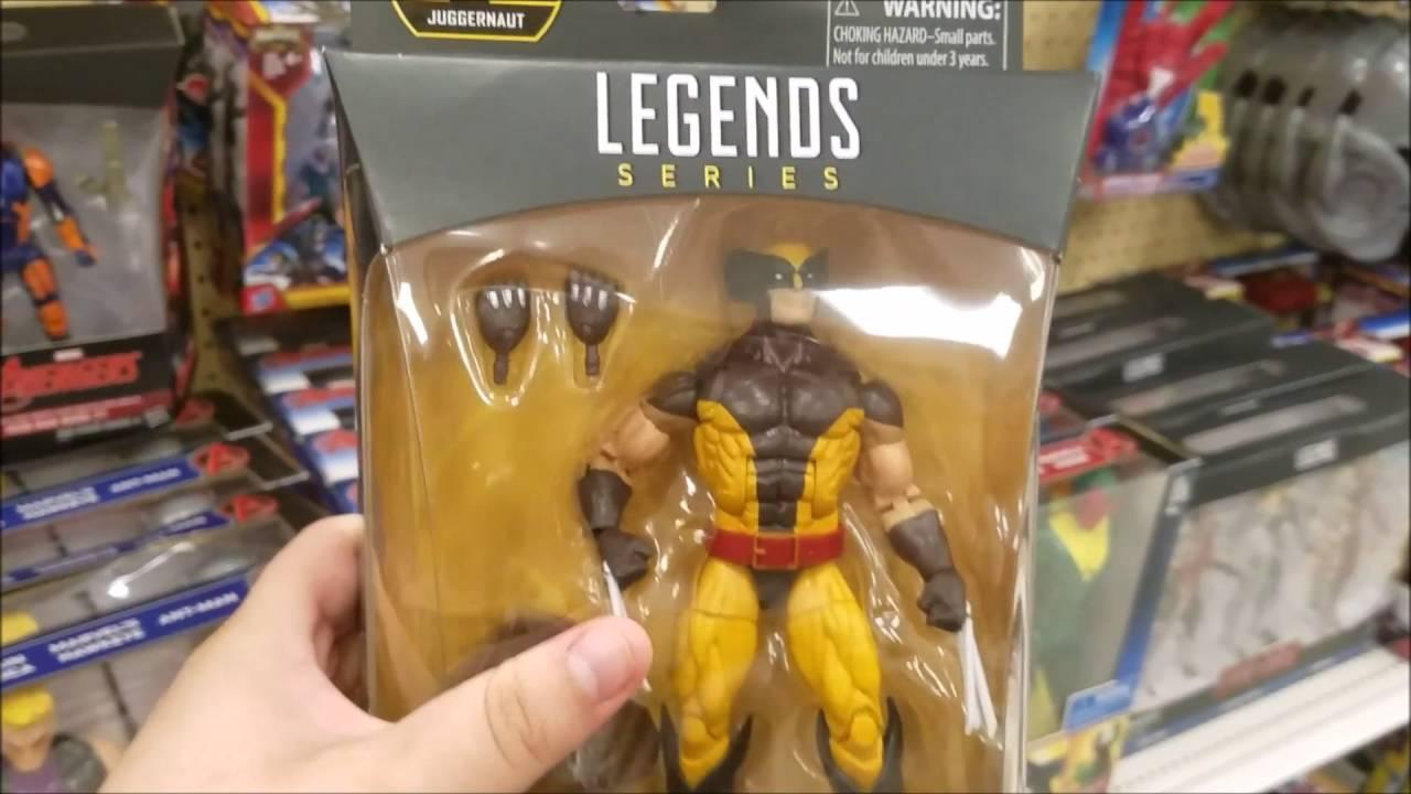 TOY HUNT for Marvel Legends! Walgreens Target Gamestop Toys R Us ...