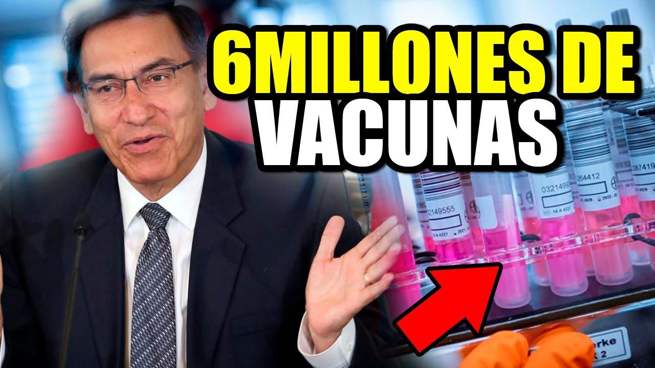 ULTIMO MINUTO RUSIA Envia 6 MILLONES DE VACUNAS Para el PERÚ (PERUANOS LLORAN DE ALEGRÍA) 😭