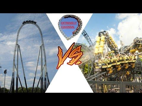 Theme Park Battle - Alton Towers Vs Thorpe Park