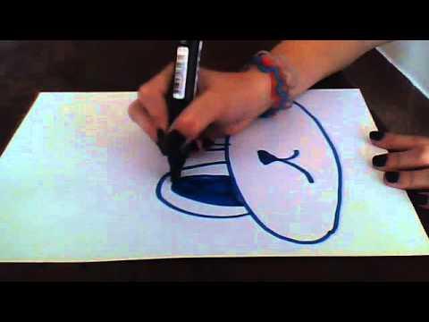 Como dibujar la cara de un burro youtube - Como pintar bien una pared ...