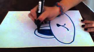 Como dibujar la cara de un burro