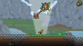 The Terra-Blade of Staves! Terraria Mod of Redemption Let's Play #22