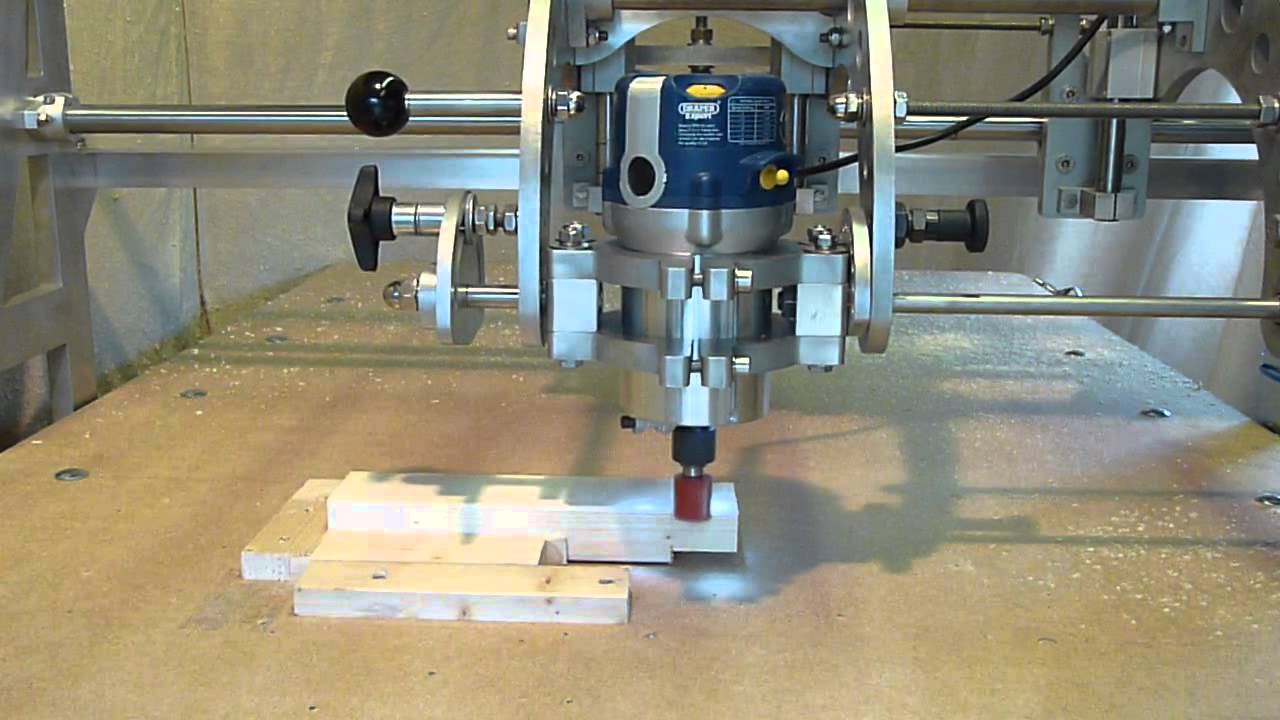 Clone 4D - Router Duplicator / Copy Carver - Joinery - Cutting a Tenon ...
