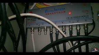 Bộ chia tín hiệu truyền hình cable hoặc chia antena 1 đầu vào 8 đầu ra