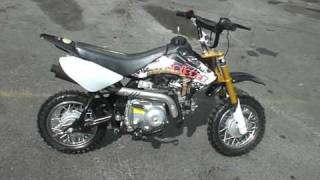 70cc dirtbike semi auto clutch