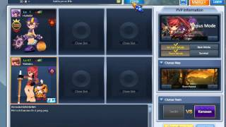 Repeat youtube video How to stack armor's in Grandchase