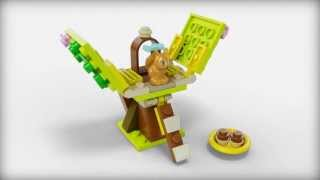 Lego Friends | 41017 | Squirrels Tree House | Lego 3d Review