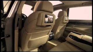 2009 BMW 7 Series F01/F02 Technology and Entertainment - Never Stand Still promotional video