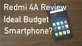 Redmi 4A Budget Smartphone Review with Pros & Cons