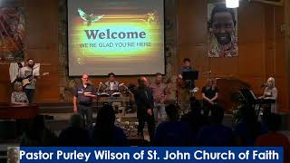 Outpouring 06/06/2021 With Pastor Purley Wilson