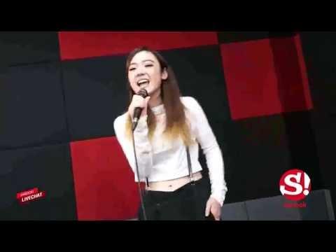 Sanook Live chat ร้องสด เพลง ชักดิ้นชักงอ  -  พลอยชมพู