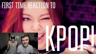 REACTING TO KPOP (first time!): BTS DOPE & BLACKPINK BOOMBAYAH