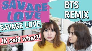 BTS (방탄소년단) 'Savage Love' (Laxed – Siren Beat) [BTS Remix] | REACTION with my ARMY mom