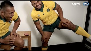 The Wallabies get asked some Japanese themed questions ahead of the Rugby World Cup