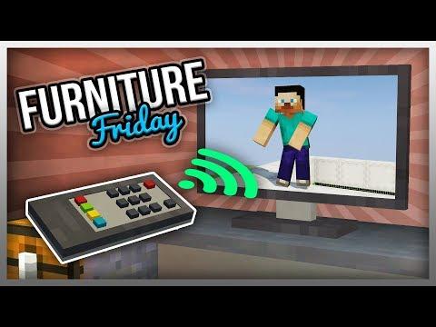 ✔️ MrCrayfish's Furniture Mod: TV Remote (The Modern Update)