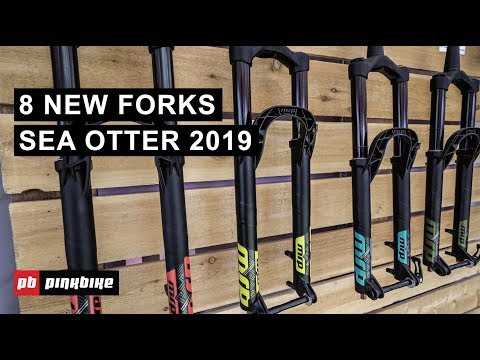 8 New MTB Suspension Forks From Sea Otter 2019