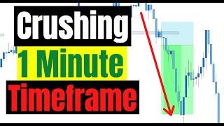 Trader Destroys 1 Minute Timeframe | Scalping Simulation Session